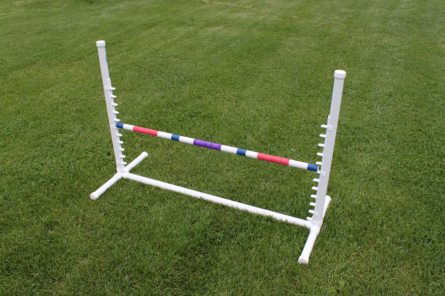 Adjustable Dog Jumps | Agility Equipment by Stone Mountain ...