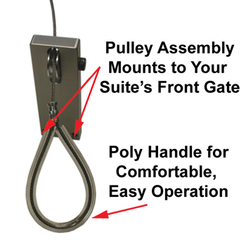 Gate Pulley Mount